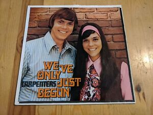 GERMAN THE CARPENTERS LP WEVE ONLY JUST BEGUN A&M 92727