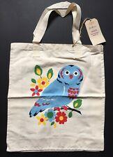 CATH KIDSTON Cotton Shopping Bag OWL Shopper EACH Charity BNWT