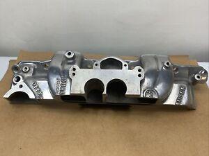 Offenhauser 360 Intake Manifold Cut A Way Dealer Display RARE!!!!