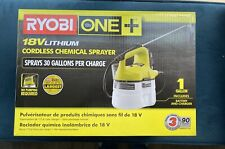 Ryobi One+ 18 Volt LithiumIon Cordless Chemical Disinfectant Sprayer Ships Today