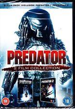 PREDATOR 1 & 2  DVD ARNOLD SCHWARZENEGGER REGION 4  (2 DISCS)