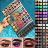 18/40/63/120 Colors Eyeshadow Palette Shimmer Matte Glitter Ultra Pigment Makeup