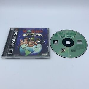 Worms World Party (Sony PlayStation 1, 2002) PS1 Complete