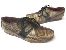 Dires Van Notten tan brown leather loafer Casual shoes size 37  7 -7.5