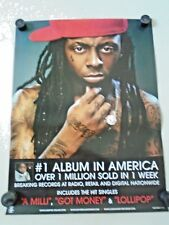 "Lil Wayne / Orig. Promo Poster - Exc. new cond. /18 x 24"" RARE"