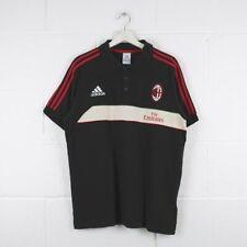 Vintage ADIDAS AC MILAN Sports Polo Shirt Mens Size Large