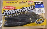 """Bass Fishing Lure 1 PackOf 10 Berkley Power Bait 7"""" Power Worm MPWA7-WM"""