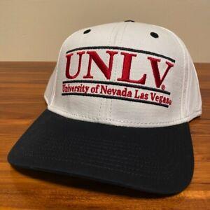 UNLV Rebels Hat Baseball Cap Snapback University Las Vegas NCAA White College