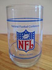"80s Nfl Team Nfc 4.5"" Glass Western Division San Francisco 49ers Atlanta Falcons"