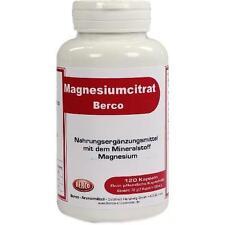 MAGNESIUMCITRAT Berco Kapseln 120 St PZN 2437497