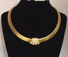 Vintage Napier  Chocker/Necklace Gold Tone