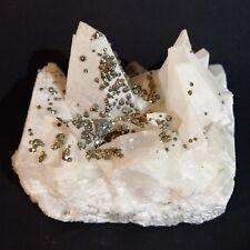 Spécimen Calcite et Chalcopyrite de Roumanie/602 grammes (collection)