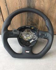 Audi Tuning Steering Wheel for Audi A4 B8 A6 C6 Q7. Flattened