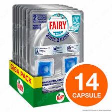 Capsule Fairy Power Clean Detergente Cura Lavastoviglie 7 Confezioni da 2