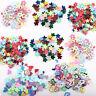 5000Pcs Mixed Glitter Heart Star Flower Sequins Stickers Decals Nail Art DIY 3mm