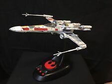 Star Wars X-Wing Model Bandai 1/48 Moving Edition - BUILT + LIGHTS