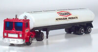 Shinsei Mini Power Mack Texaco Tanker Trailer Cabover COE Semi 1:91 Scale Model
