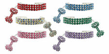 MIRAGE GLAMOUR BITS AUSTRIAN CRYSTAL DOG CAT JEWELLERY COLLAR XS SMALL
