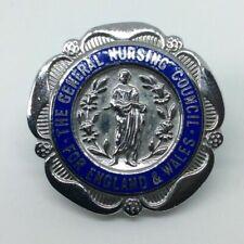 More details for rare 2 badges +r m n+ r s c n  enamel nurse badges(  )vintage cond