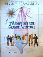 Plakat Kino L'Amour Est Une Großes Abenteuer Blake Edwards - 120 X 160 CM