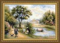 "Counted Cross Stitch Kit RIOLIS - ""Walk in the Park"""