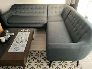 Grey L shaped sofa from Made.com might be a 5 seater?
