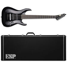 ESP STEF B-7 Stephen Carpenter Fluence 7-String Baritone Black Guitar w/Case