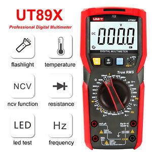 UNI-T UT89X/UT89XD NCV Measurement Multimeter Temperature Capacitance Resistance