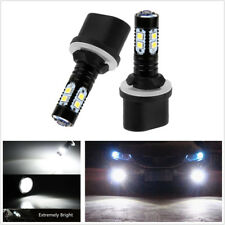 2x 880 899 50W Xenon White High Power LED Projector Fog Lights Bulb For Auto Car