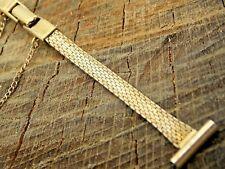 Vintage Watch Band 13mm Butterfly Clasp Gold Filled Kreisler NOS Unused Ladies