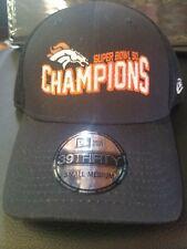 bbcdb426bff NFL Licensed Denver Broncos Super Bowl 50 Champions New Era S-M Flex Fit Hat