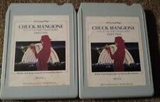 "Set of 2 Chuck Mangione 8 Track Tapes ""Live At The Hollywood Bowl"" Parts 1 and 2"