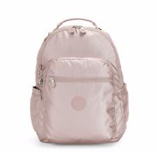 Kipling SEOUL Backpack with Laptop Protection METALLIC ROSE FW19 RRP £97