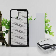 5pcs Blank 2D PC Sublimation Print Case For iphone SE 2020 11 Pro XS Max XR X 8