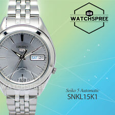 Seiko Men 5 Automatic Watch SNKL15K1 AU FAST & FREE