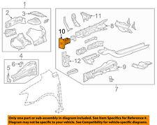 Chevrolet GM OEM 12-18 Sonic FENDER-Rail Extension Left 94541553