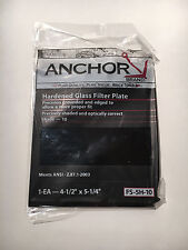 Anchor Brand FS-5H-10 Hardened Glass Filter Plate Shade-10