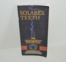 Old Dental Book - Solarex Teeth - 1931.