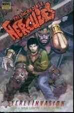 CIZ INCREDIBLE HERCULES MARVEL COMICS Secret Invasion (2008, Hardcover) SEALED