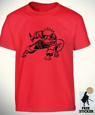 Naruto Uzumaki T shirt Sasuke Cool Anime Gift Children's Tee Boys Kids
