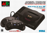 SEGA Mega Drive Mini W JP Ver Controller 2 Set 16 bit Vintage Game Collector Toy
