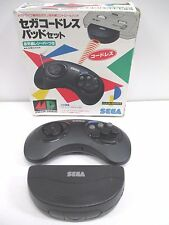 Sega Mega Drive - Wireless Controller Pad Set 6B SJ6500 Receiver -- Japan. 13867