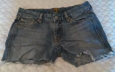 Women's 7 for all man kind cut off jean shorts size 27