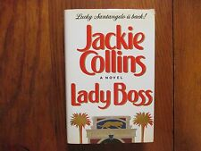 """JACKIE  COLLINS(Died in 2015) Signed Book (""""LADY BOSS""""-1990 1st Edition Hardback"""