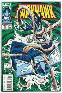 DARKHAWK #33 Nov 1993 MARVEL Comics NM/MT 9.8 W Tod SMITH Cover & Art B/O