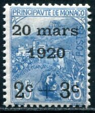 MONACO 1920 35 ** POSTFRISCH TADELLOS 100€(I1862