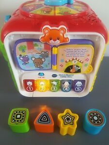 Baby Toy Vtech Sort & Discover Baby Activity Cube