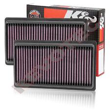 2 K&N 33-5014 Hi-Flow Air Intake Panel Filter For 2014-2018 Infiniti Q50 3.5