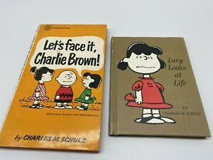 Lucy Looks at Life, & Let's Face It Charlie Brown by Charles Schulz