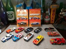 Lesney matchbox Superfast lot of 13 minty 1985 released models ...nice!!!!!